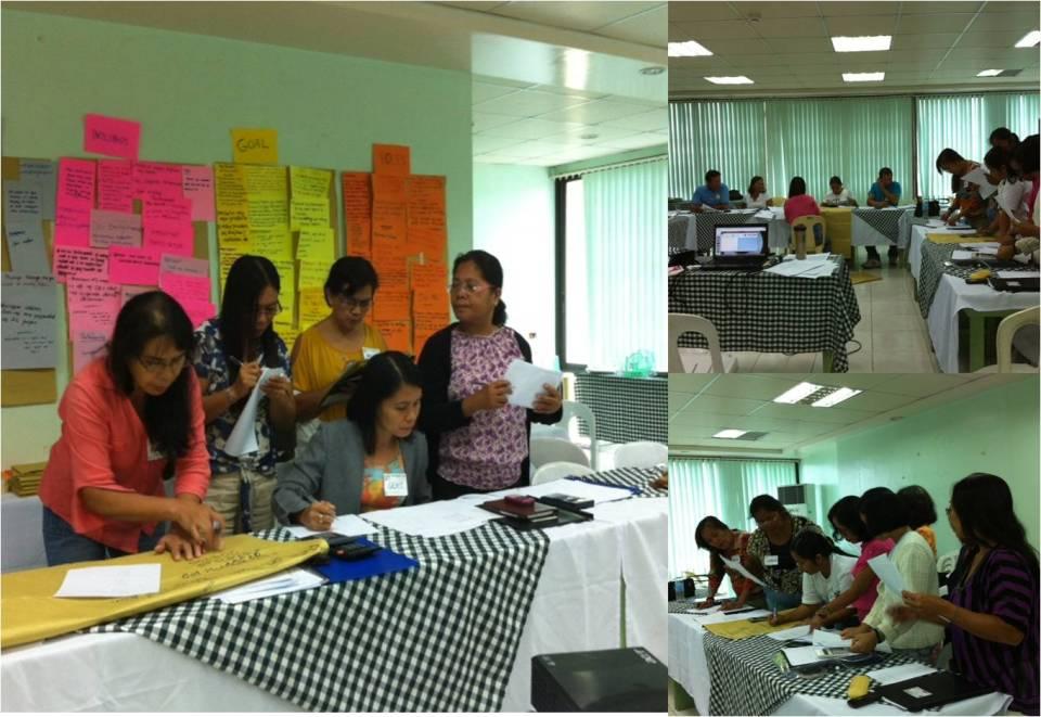 FM participants during the training workshops.