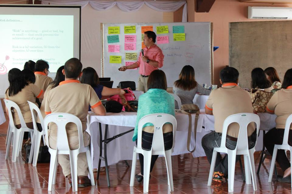 PGMOC participants during one of the mentoring workshops.