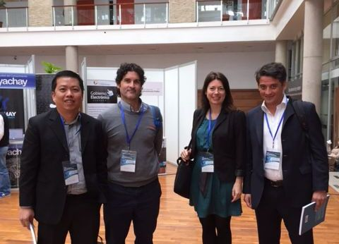 The Panel Members and ICEDEG 2015 Ecuador
